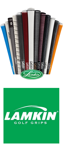 We Use Lamkin Golf Grips